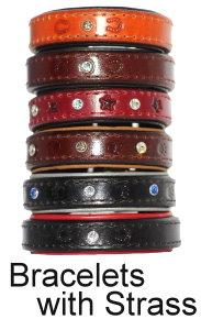 Bracelets with Strass