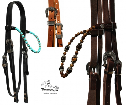 Western Trense Fancy Beads Create YOURS!