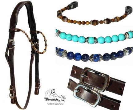Trense  Fancy Beads mit verschiedenen Stirnbändern